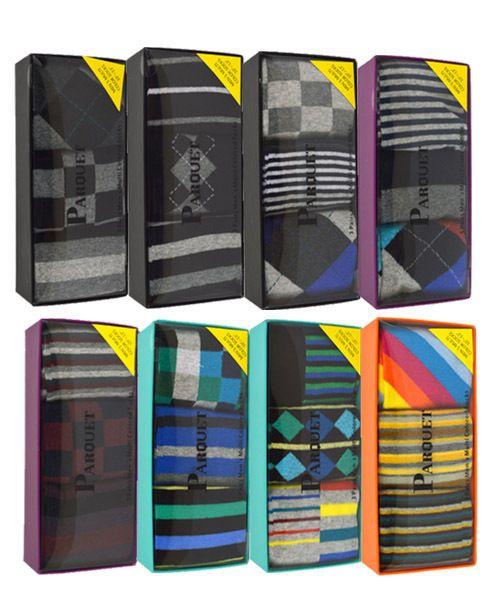 "Men/""s Rjm 3 Pack Ankle Socks Black,Blue//Multi /& Grey//Black size 7-11 SK109"
