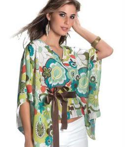 abd78b443c Modelos de blusas femininas diferentes e bonitas