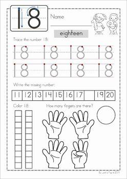 Pin On Homeschooling Number worksheet for preschool