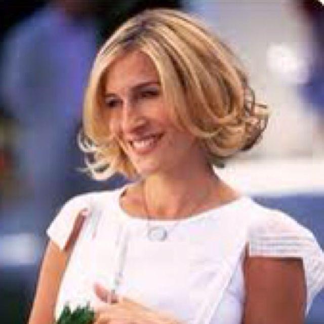 Sarah Jessica Parker Short Curly Hair Curly Hair Styles Carrie Bradshaw Hair Short Hair Styles