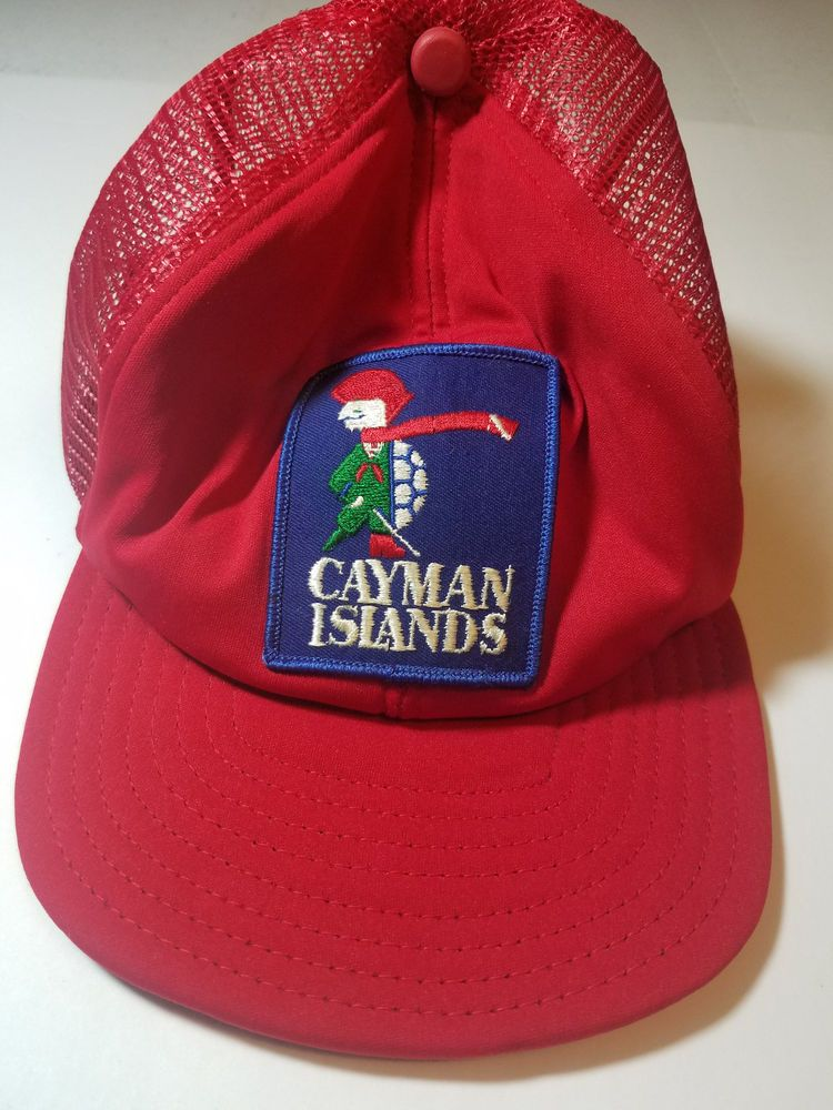 Vintage Cayman Islands snapback cap