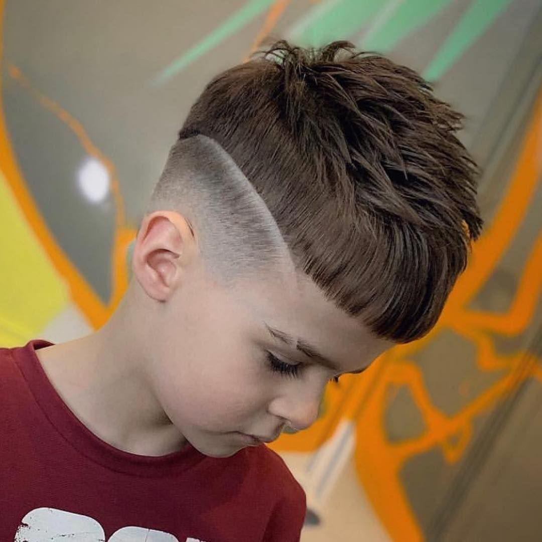 Check Out The Latest Cool Boys Haircuts 2019 Updated Gallery Inc Skin Fades Faux Hawks Spikes Side Cool Boys Haircuts Little Boy Hairstyles Boys Haircuts