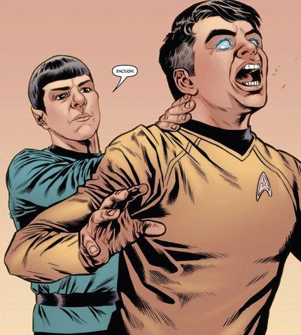 (New) Spock vs Gary Mitchell