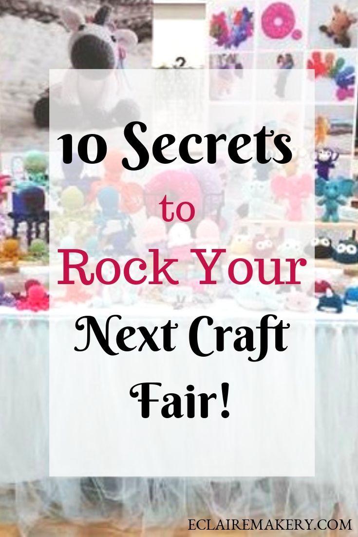 10 Secrets to Rock Your Next Craft Fair Crochet Market Tips
