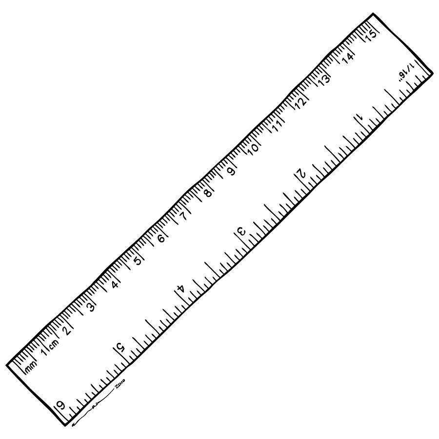 Reverse Printable Ruler   Printable ruler, Book folding, Ruler