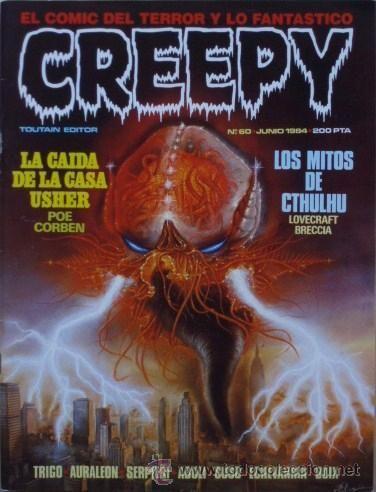 Creepy. El cómic del terror y lo fantástico, nº 60
