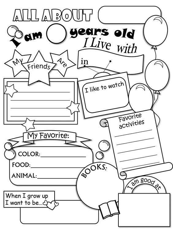 Pin By Eva Rezsofine Vajda On Worksheet All About Me Worksheet School Activities About Me Activities