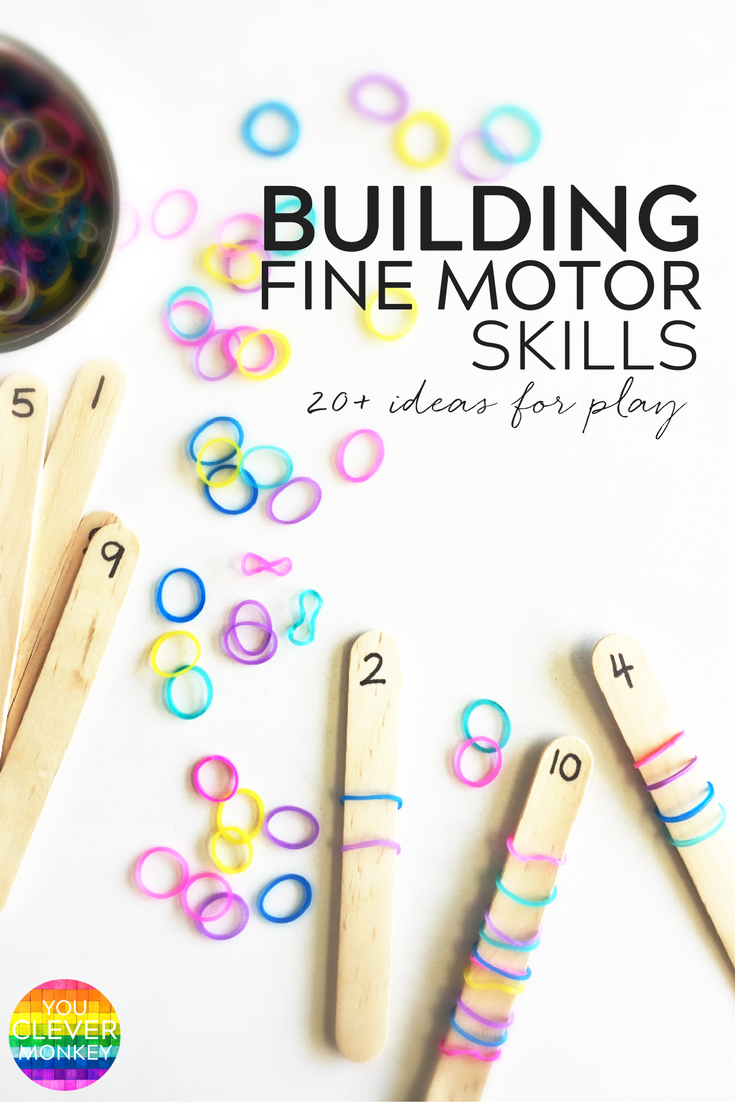 20 Simple Hands On Activities That Help Build Fine Motor