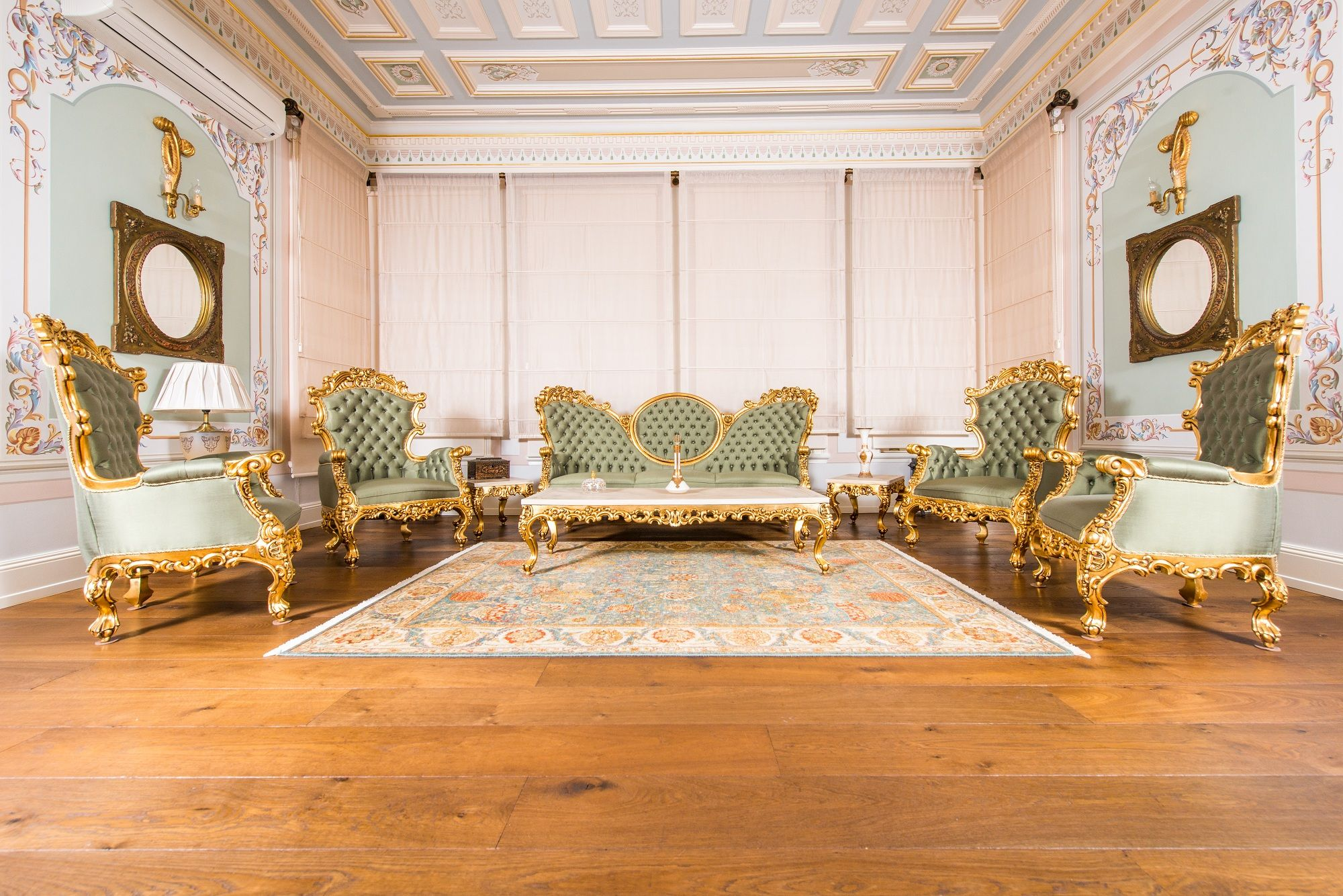 A Perfect Harmony With The Historical Texture Mansion Designs Wood Floors Interior Design