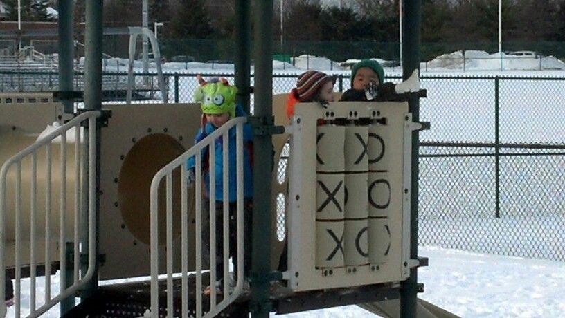 Kids at recess!