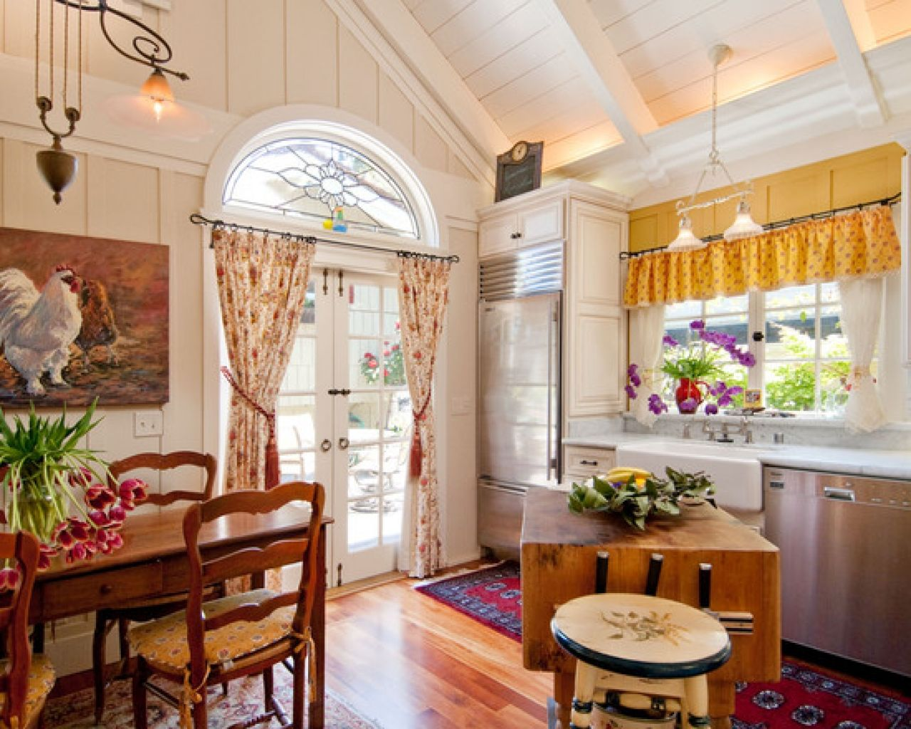 french country decorating | French country kitchen decorating ideas design pictures remodel-perfect kitchen