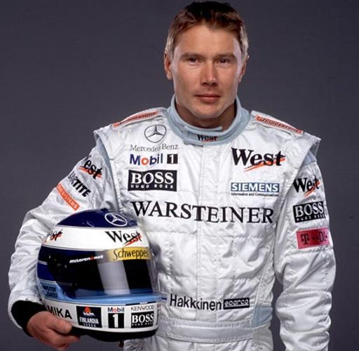 Mika Häkkinen, a Finnish F1 driver who won world ...