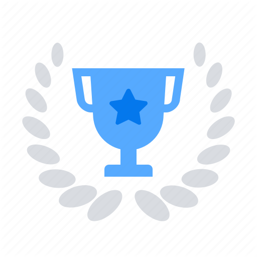 Trophy Wreath Icon Download On Iconfinder On Iconfinder Icon Trophy All Icon