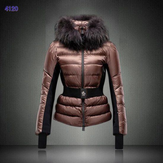 Discount Moncler Clairy Women Down Jackets Coffee Outlet | Jackets ...