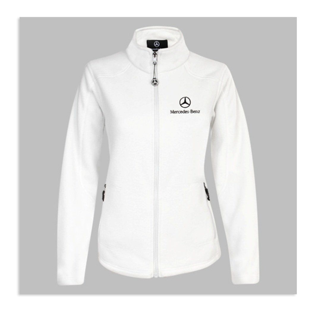 Genuine mercedes benz women 39 s voyager fleece jacket size for Mercedes benz jacket