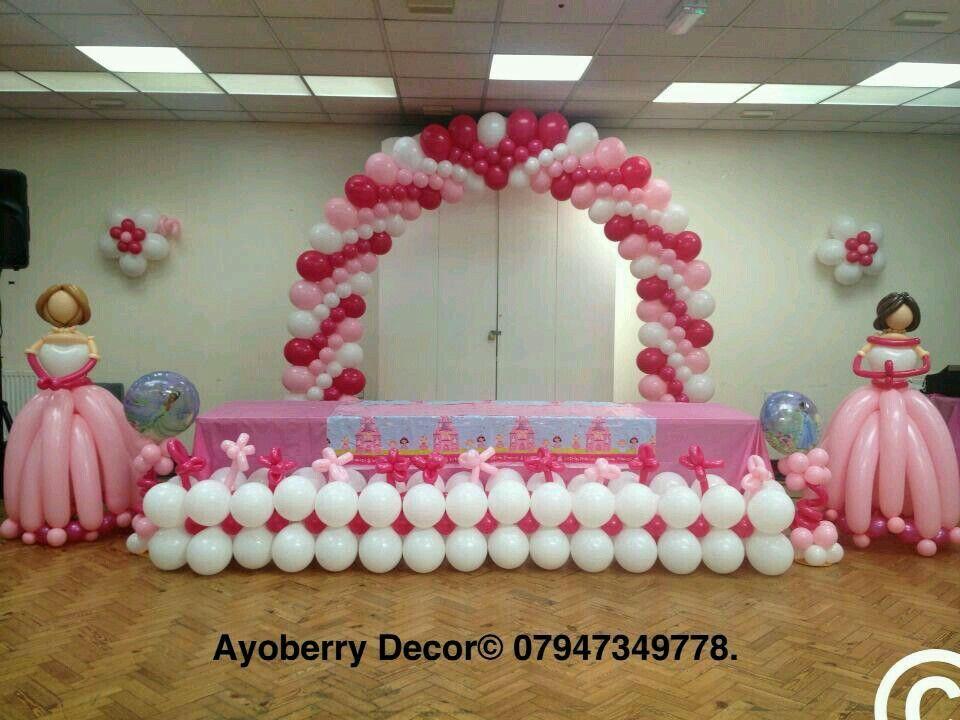 Arco rosa de globo Decorations Pinterest Arco, Globo y Rosas - imagenes de decoracion con globos