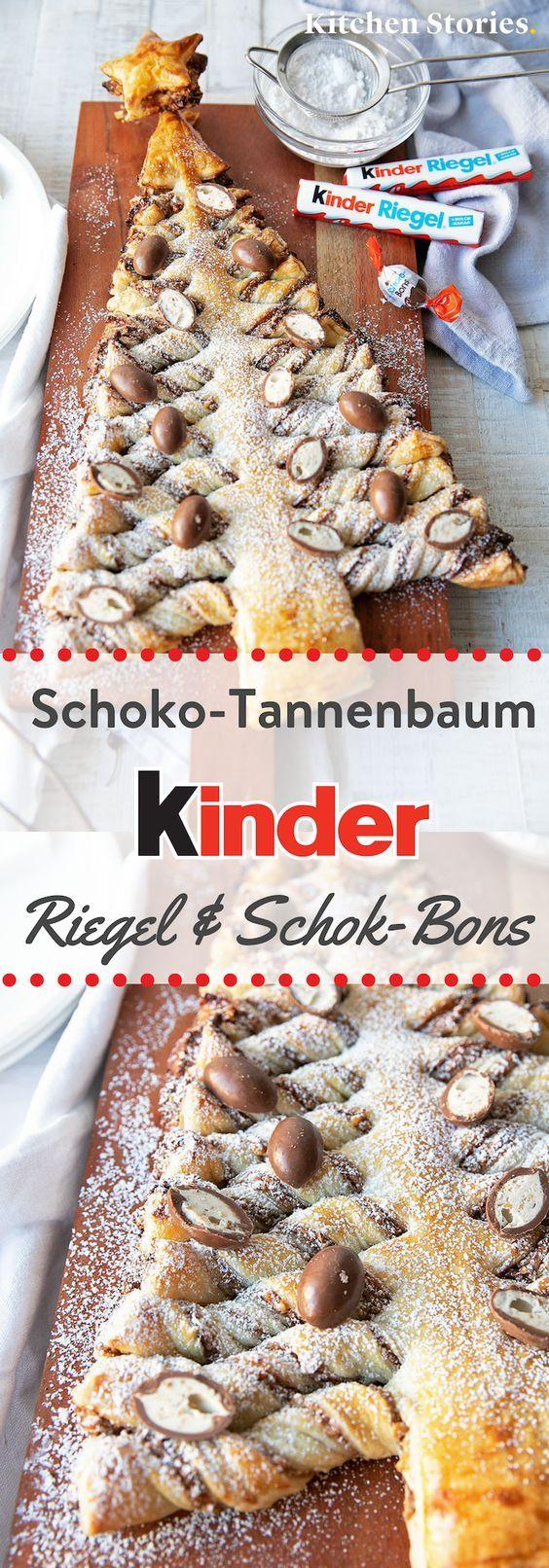 Schoko-Tannenbaum von kinder | Rezept mit Video | Kitchen Stories