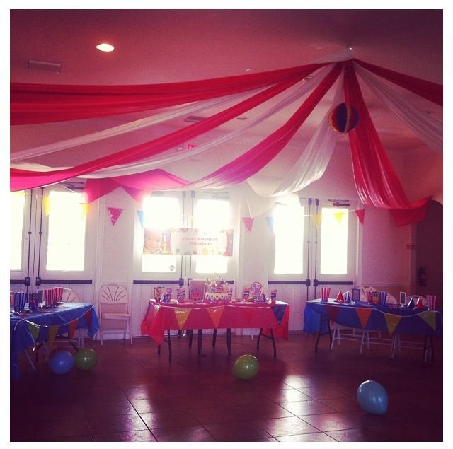 circus tent decoration - Google Search & circus tent decoration - Google Search | Jacksonu0027s Bday Party ...