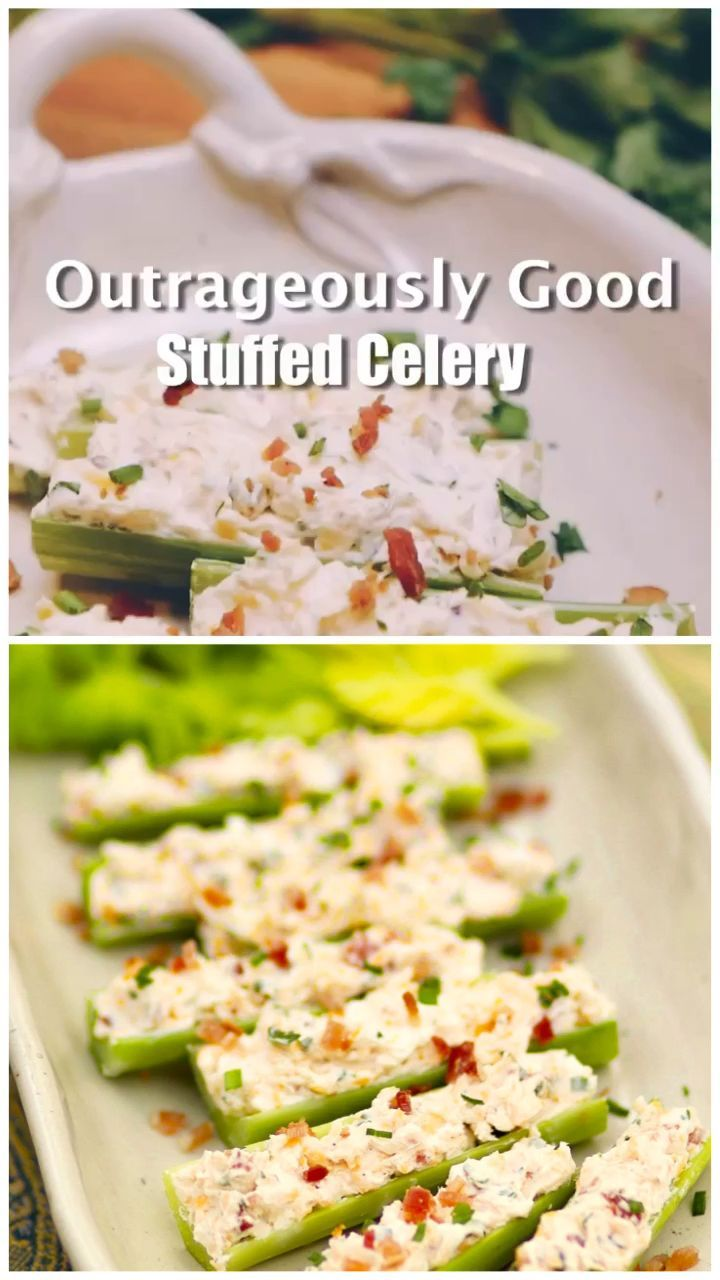Outrageously Good Stuffed Celery  A Southern Soul Outrageously Good Stuffed Celery  A Southern Soul