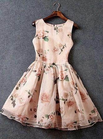 Hermoso En 2019 Ropa Vestidos Floreados Y Vestidos De Moda