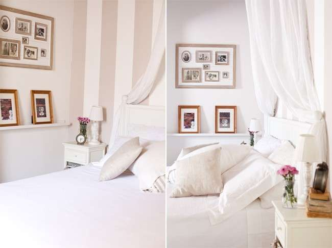 Pareti A Strisce Beige : Pareti a righe whites interiors wall colors