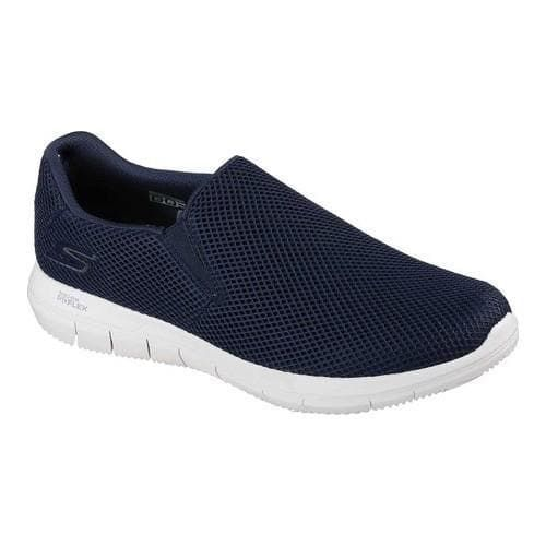 c2c1231bd514 Men s Skechers GO Flex 2 Compact Slip-On Walking Shoe Navy ...