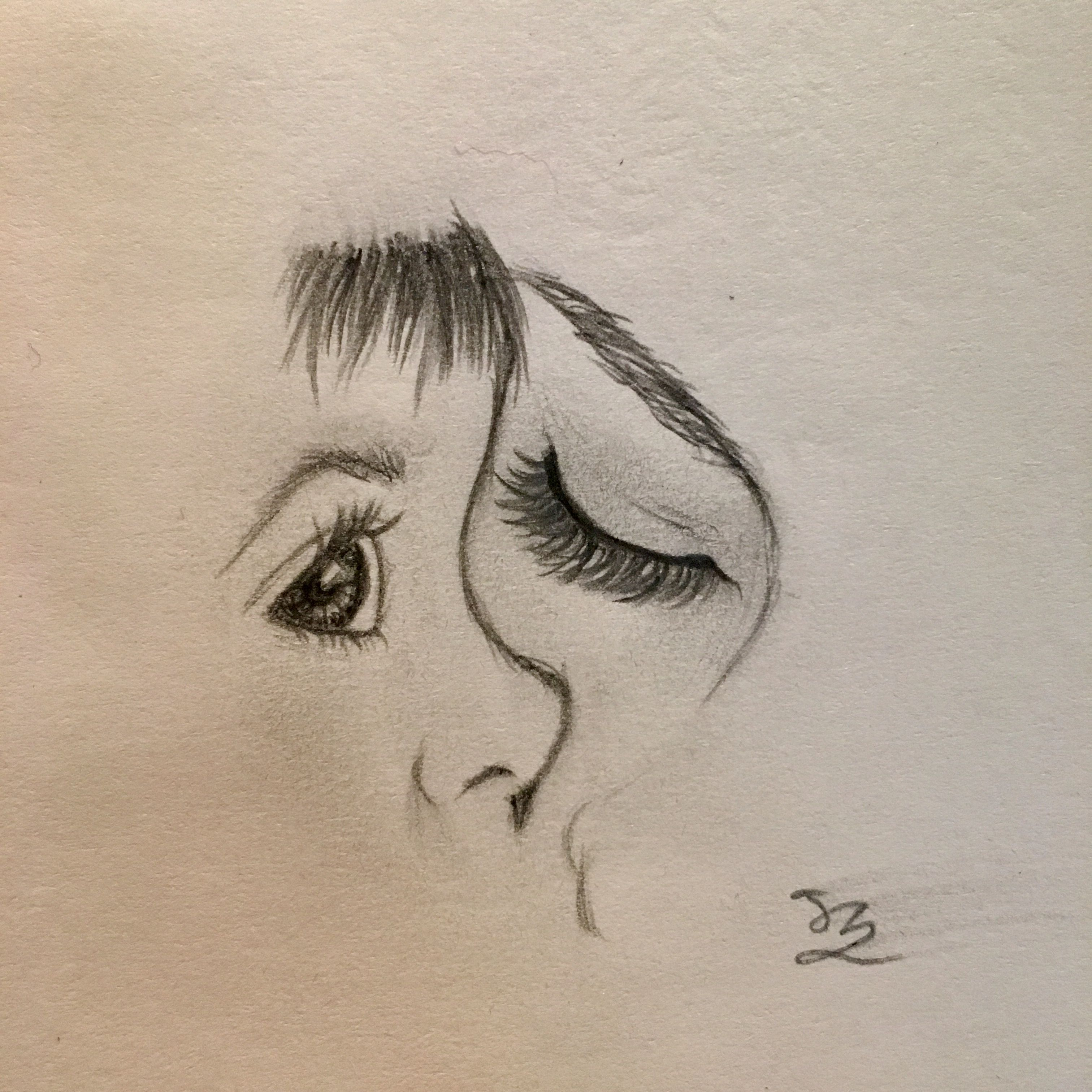 JZ Drawing* Mother Love   Sketches of love, Mothers love ...