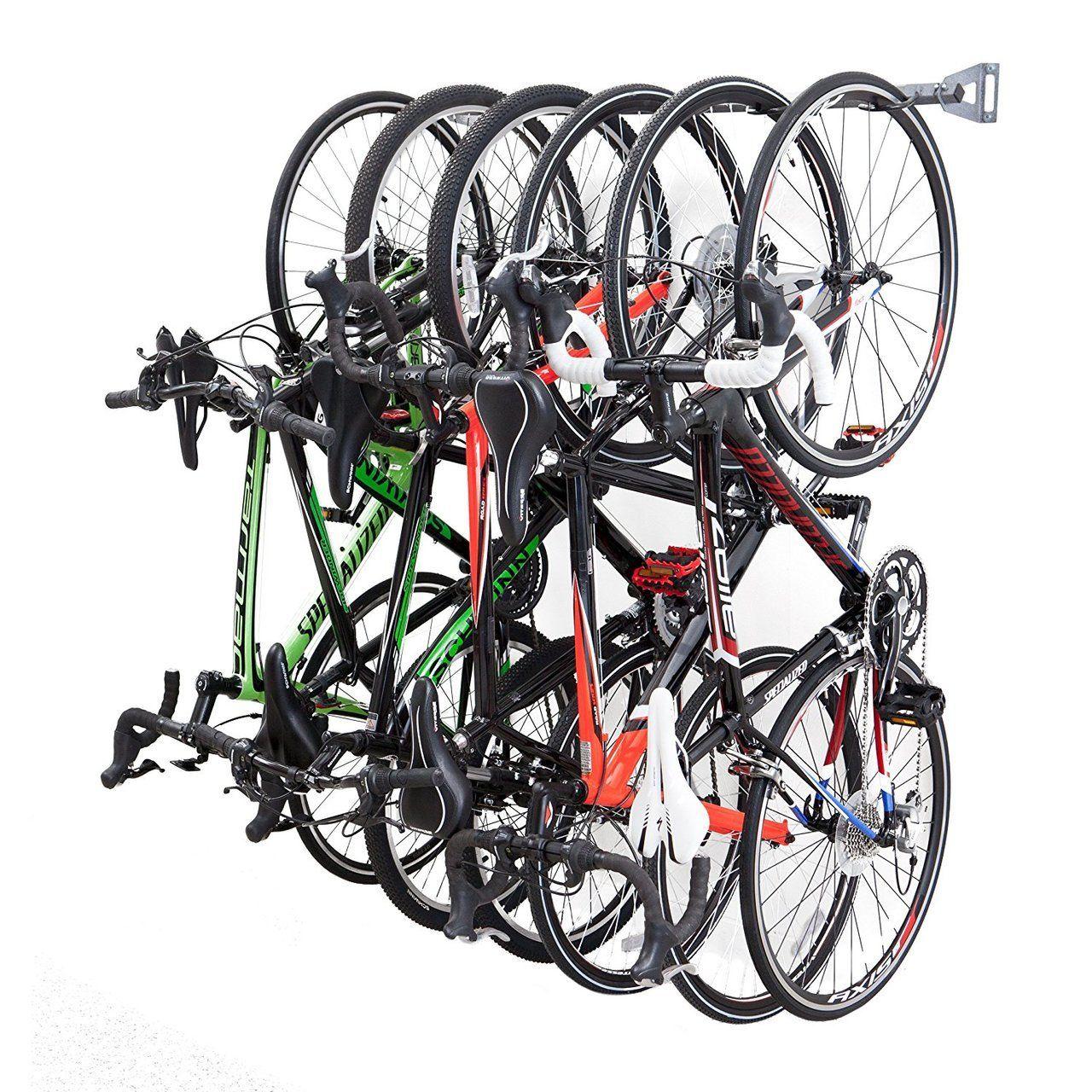 Perfect Bike Storage Rack | 6 Hanging Bikes