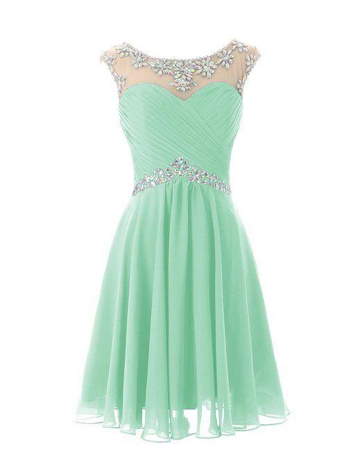 e55473f681 Light Green Homecoming Dresses