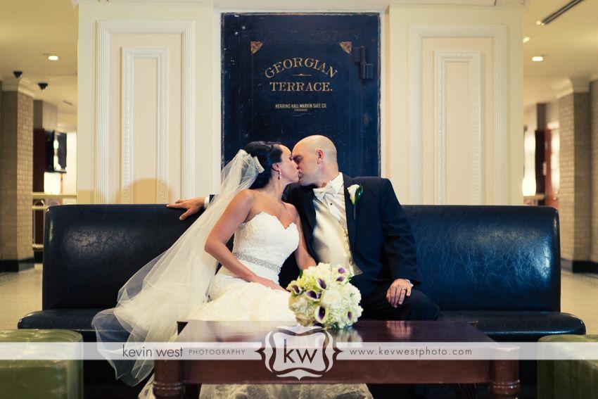 Beautiful Wedding at Georgia Terrace Hotel www,jldesignsweddings