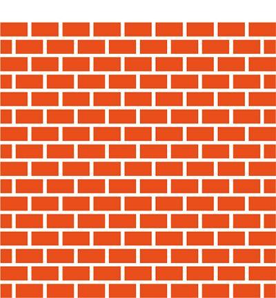 Folder do embossingu + wykrojnik - Bricks / cegły / murek - Marianne Design Na-Strychu
