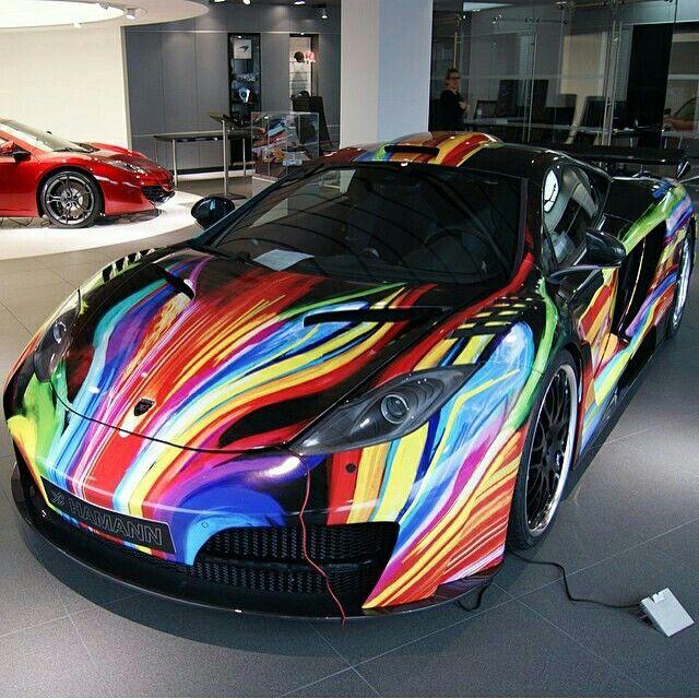 Very Unique! #mclaren #mp412c #amazingcars247