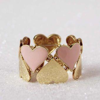 Hearts on Fire Bracelet, Women's Sweet Bohemian Jewelry