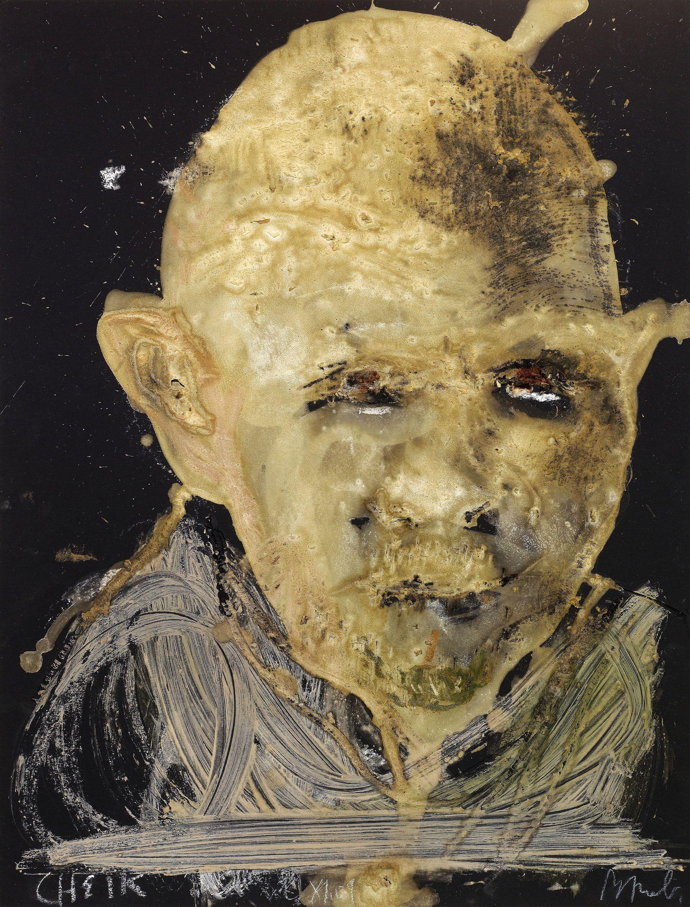 Robe Tableau Autoportrait Miquel Barcelo