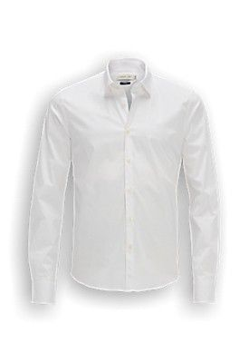 Het Overhemd.Stangata Basic Overhemd Met Slim Fit Het Overhemd Heeft Een