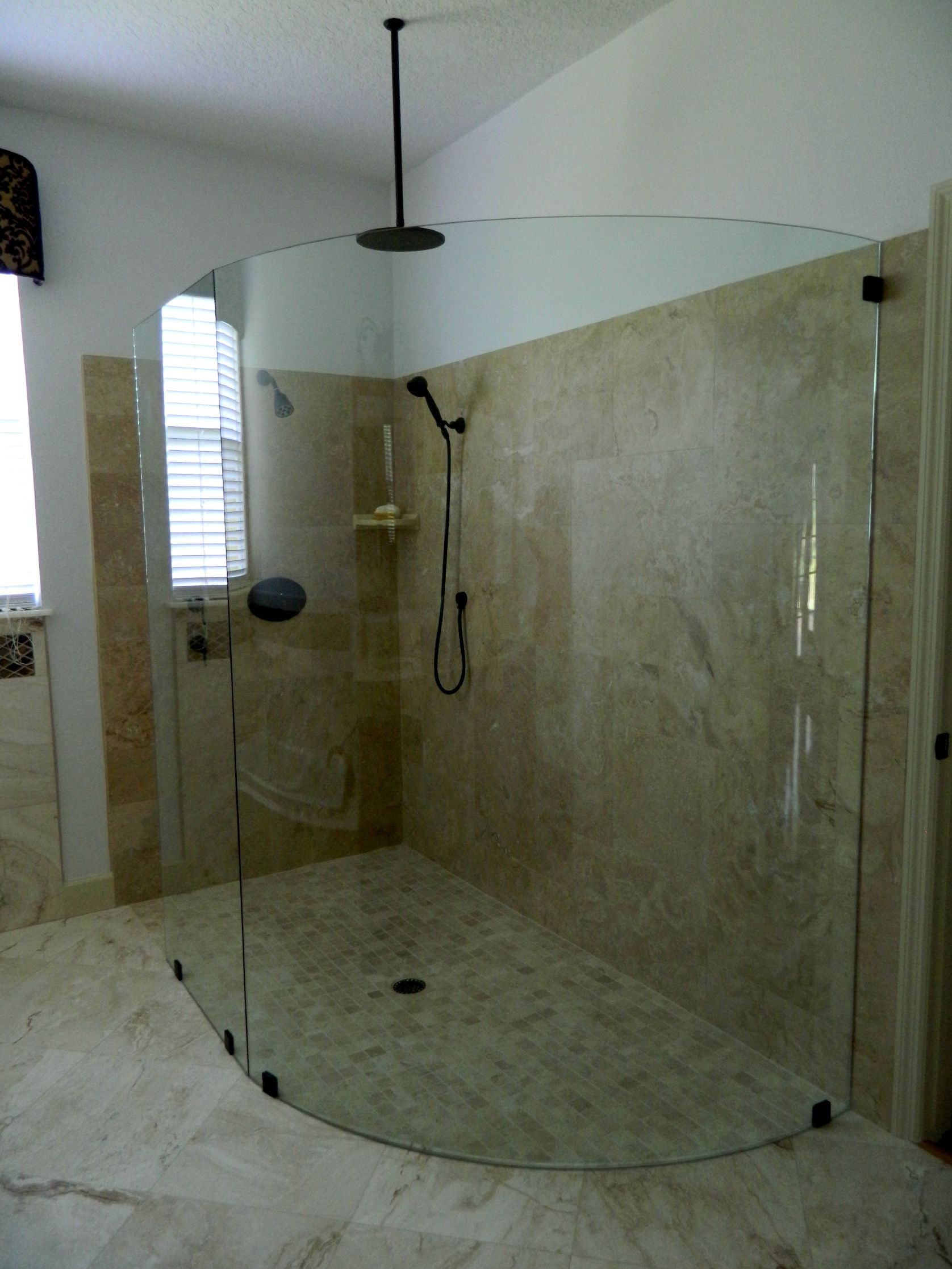 Chudnow Shower after remodel http://www.thekitchensofsk.com/chudnow-bathroom.html