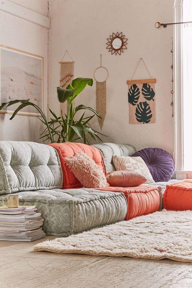 Wie Dekorieren Zimmer Mit Boden Kissen Mobelde Com Sofa Design Wohnzimmer Design Bodenkissen
