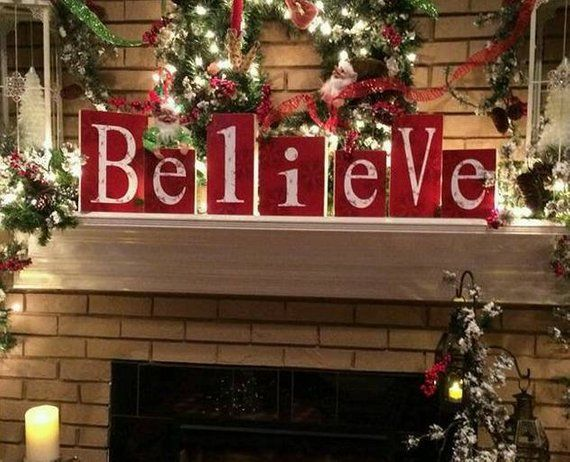 Holiday Block set, Believe, Christmas | CHRISTMAS | Pinterest ...