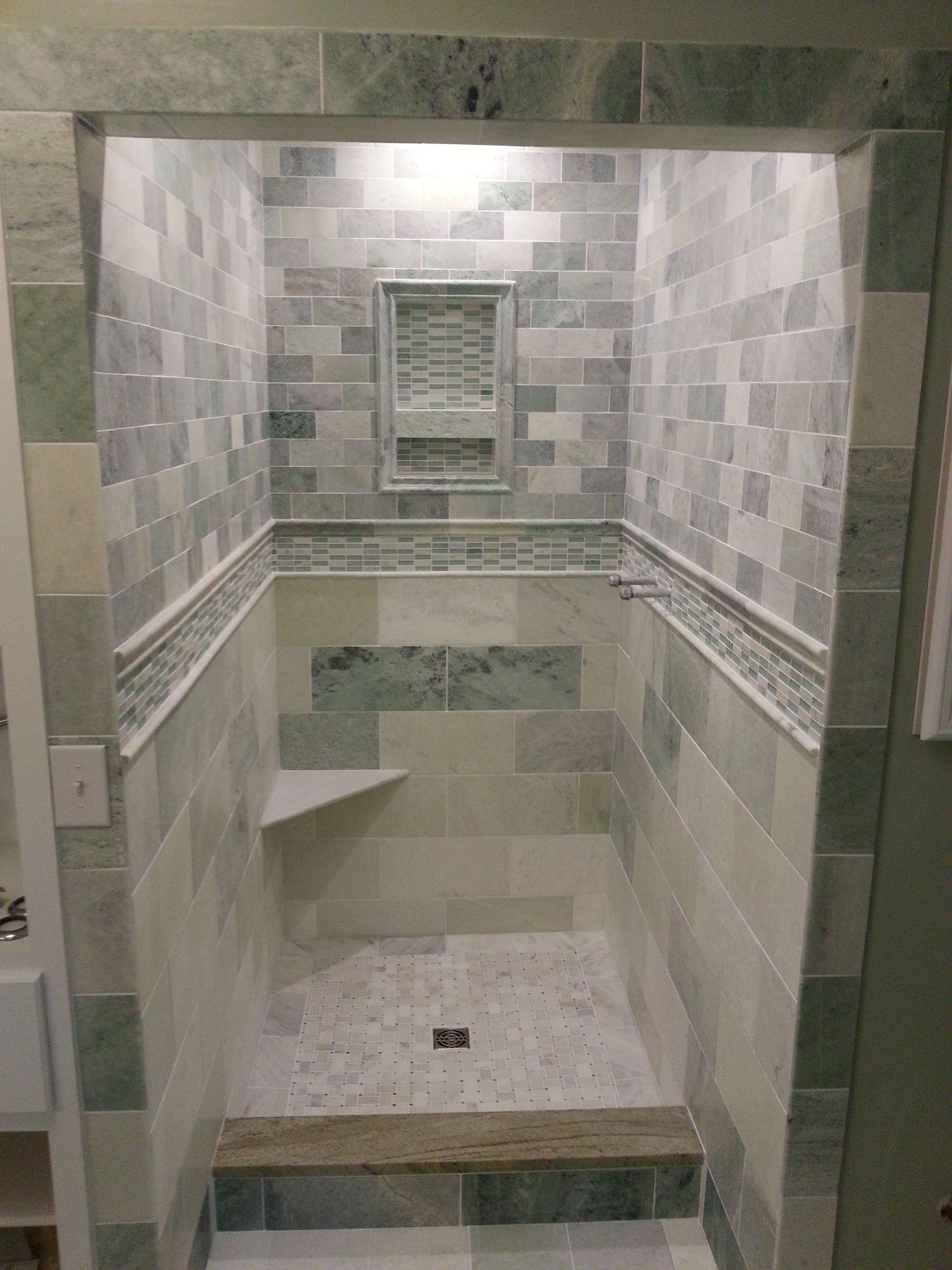 Biltmore Marble shower Biltmore Marble shower