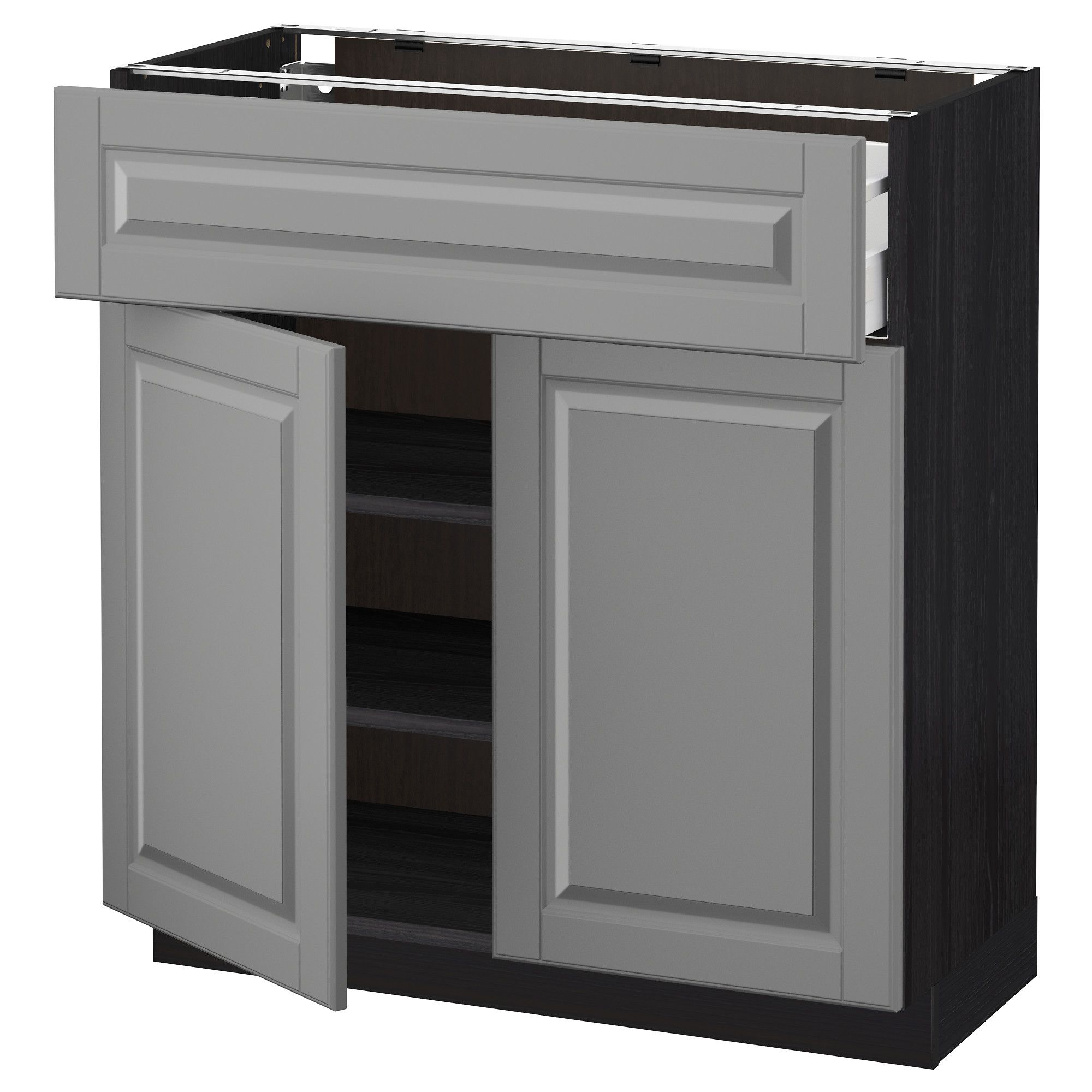 METOD Modular Kitchens, IKEA (With images) | Base cabinets ...