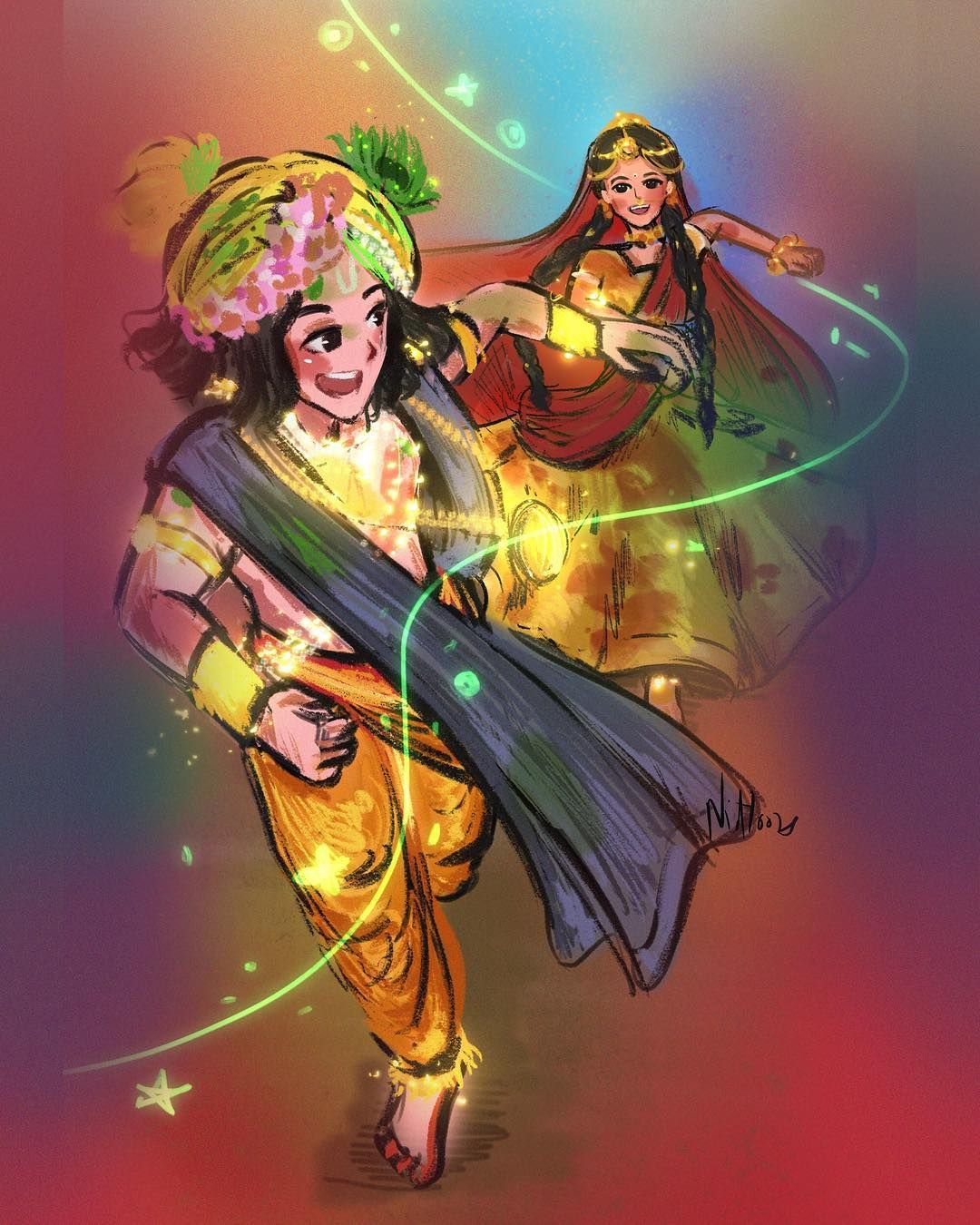 Image May Contain 1 Person Radha Krishna Art Radha Krishna Images Krishna Radha