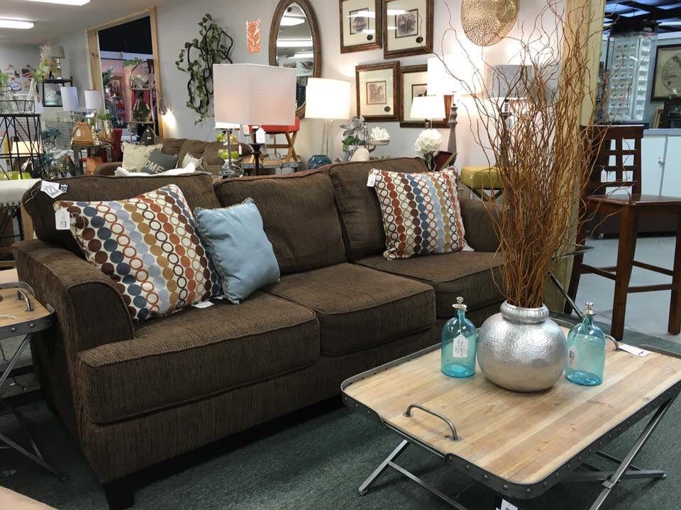 Ashley Furniture Sofa In Brown