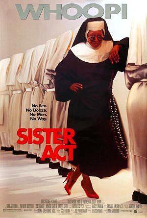 Ver Pelicula Cambio De Habito Una Monja De Cuidado Sister Act 1992 Dvdrip Una Cantante De Un Cabaret Deloris Van Cartier Wh 90s Movies Movies Disney Films