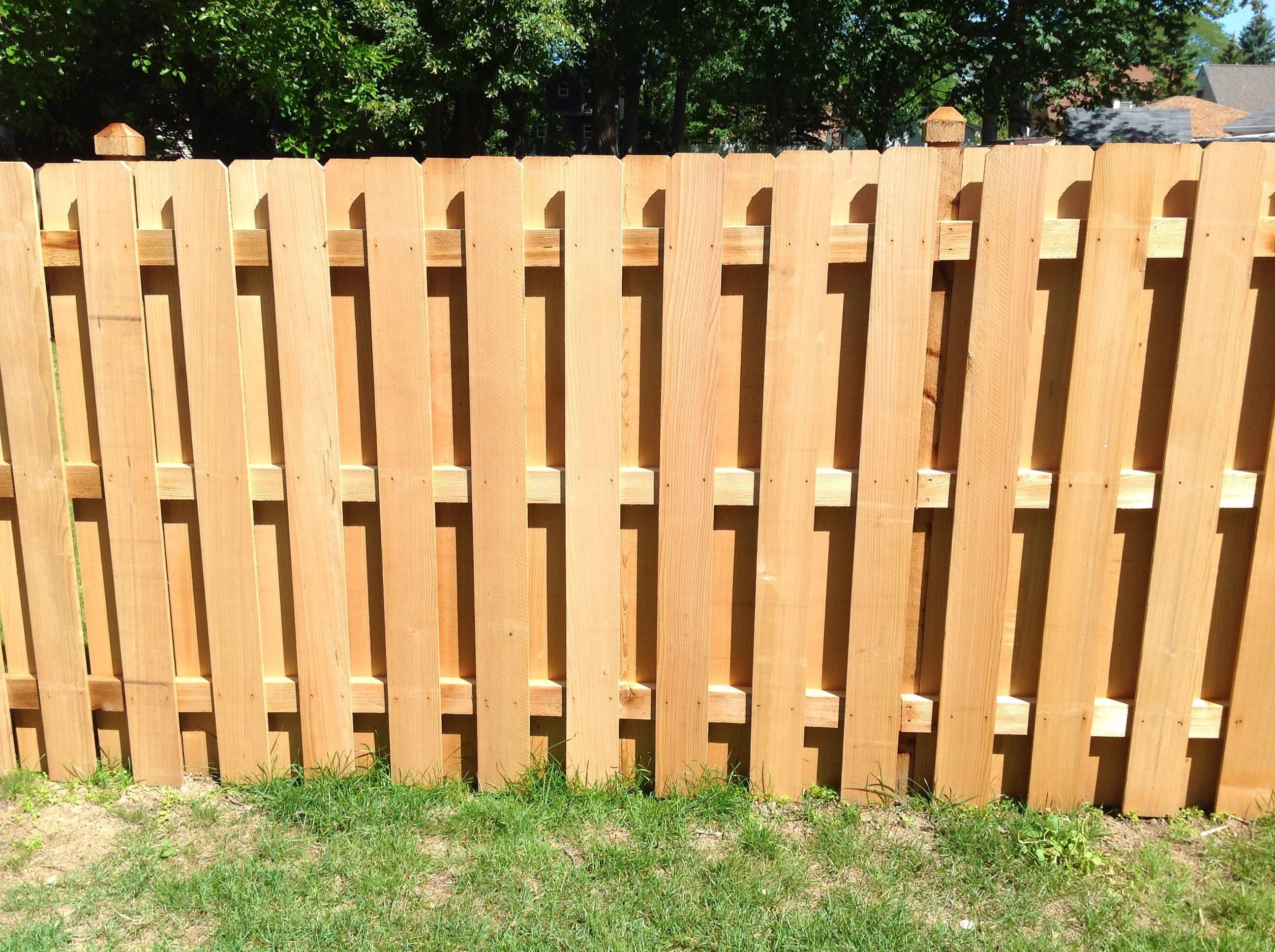 wood fence contractors red cedar fence panels