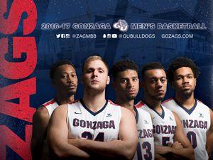 Gonzaga Men S Basketball With Images Gonzaga Gonzaga