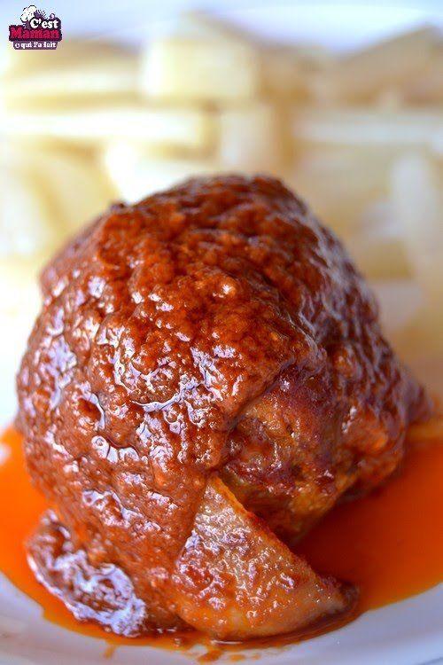 paupiettes la sauce tomate plats uniques meat. Black Bedroom Furniture Sets. Home Design Ideas