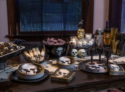 halloween party decorating ideas home design. Black Bedroom Furniture Sets. Home Design Ideas