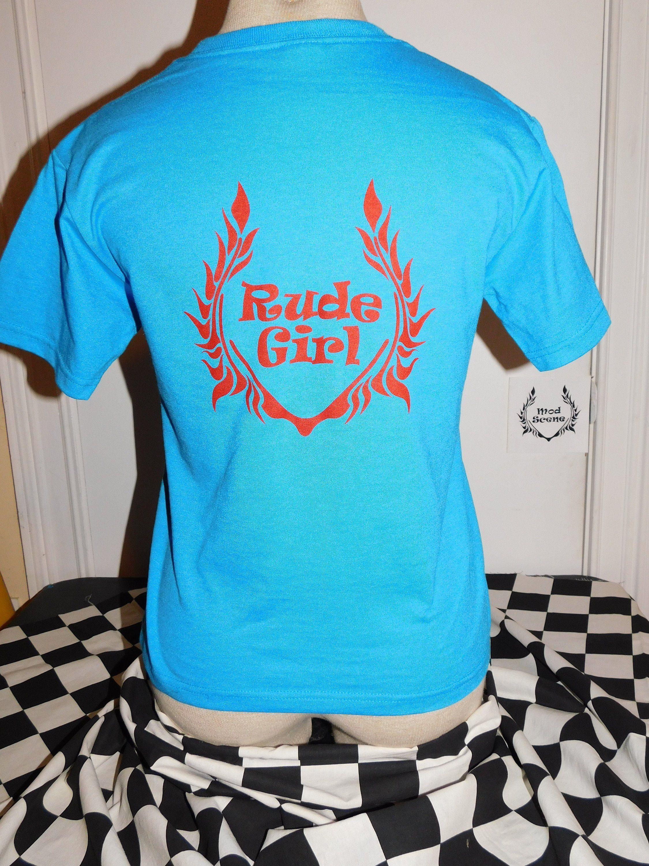 punk T alternitve modscene Rudegirl Shirt skapunk Girls mod ska QdxshrCt