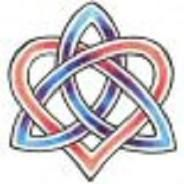 Irish Love Knot...Thinking this will be my next tattoo.. outlined in black colored in green