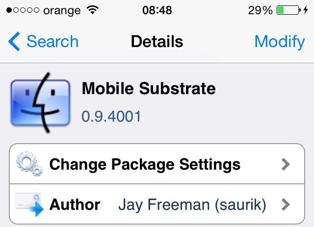 Utilizarea patch-urilor neoficiale pentru Mobile Substrate ar putea fi periculoasa